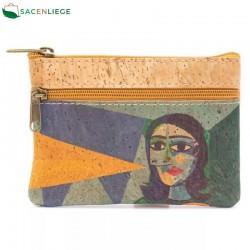 Porte-monnaie en liège Picasso